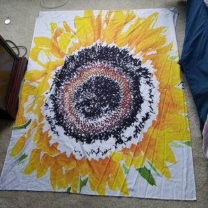 Society6 Sunflower Tapestry